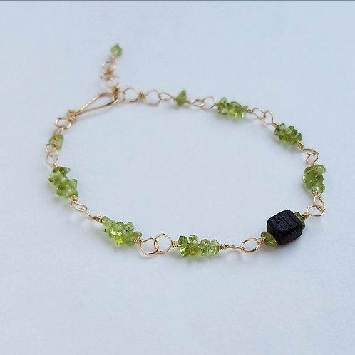 Pretty Peridot Bracelet