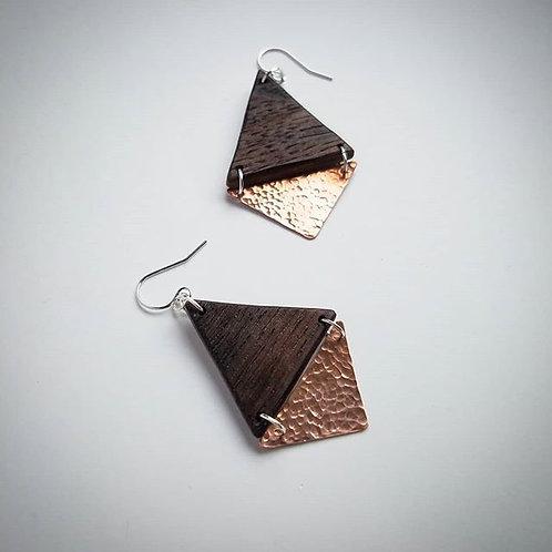 Lauren Copper Earrings