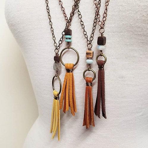 Barrel Boho Necklaces