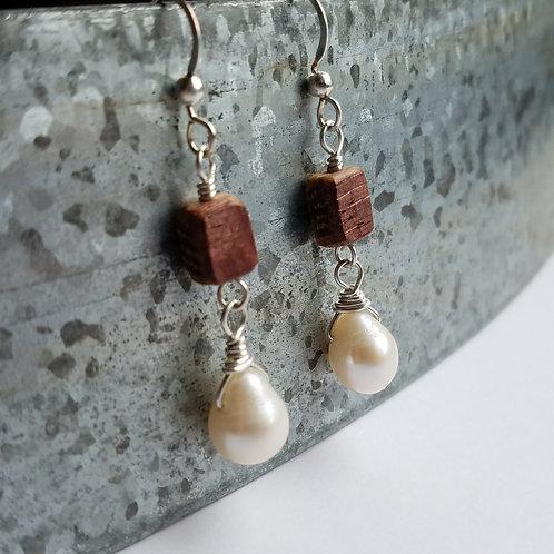 Pearl Briolette Earrings