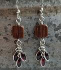 Napa Barrel Bead Co. Earrings