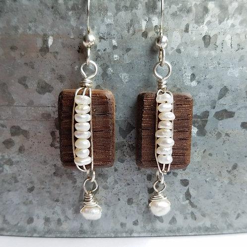 Intricate Mini Pearl Earrings