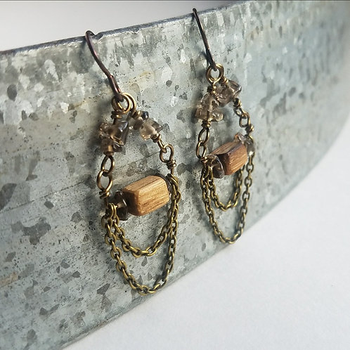 Barrel Bohemian Earrings