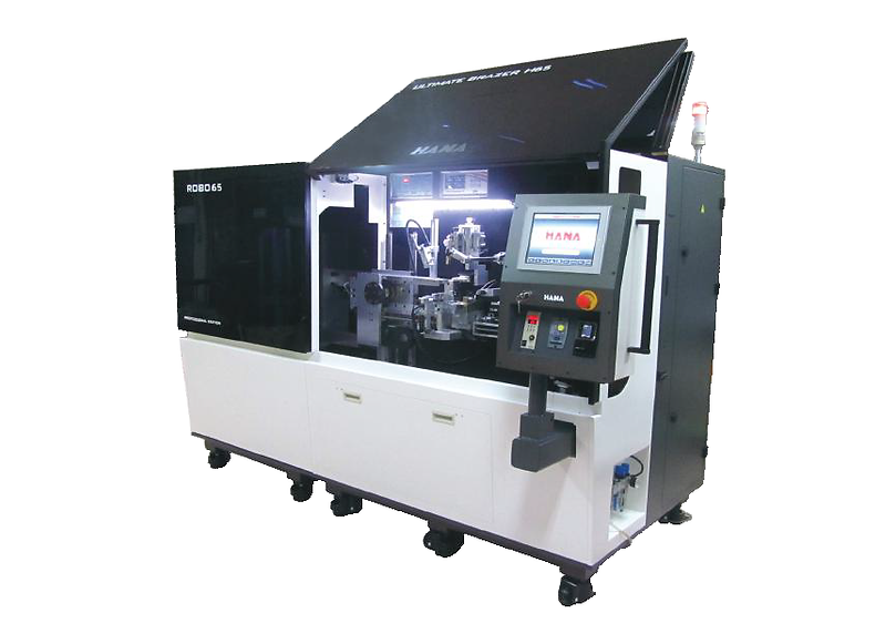 Automatic brazer for metal cutting saws