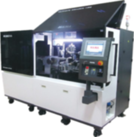 H55 FULLY AUTOMATIC BRAZING MACHINE, ROUND CIRCLE SAW TIPPER