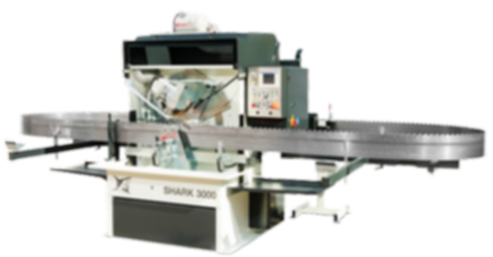 CNC band saw profile grinder, profile grinding machine, SHARK 3000
