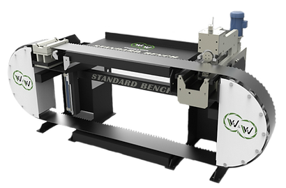 STANDARD BAND SAW BENCH, BAND SAW TENSIONING LEVELING BENCH