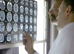 Doutores que olham a raios-X