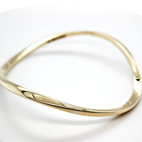 9ct Gold Infinity Bangle