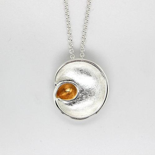 Silver Circular Style Pendant