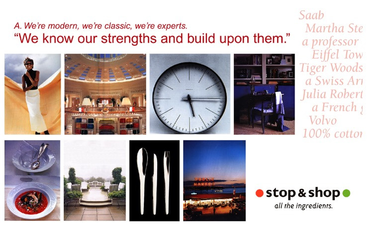 STOP & SHOP [food + retail]