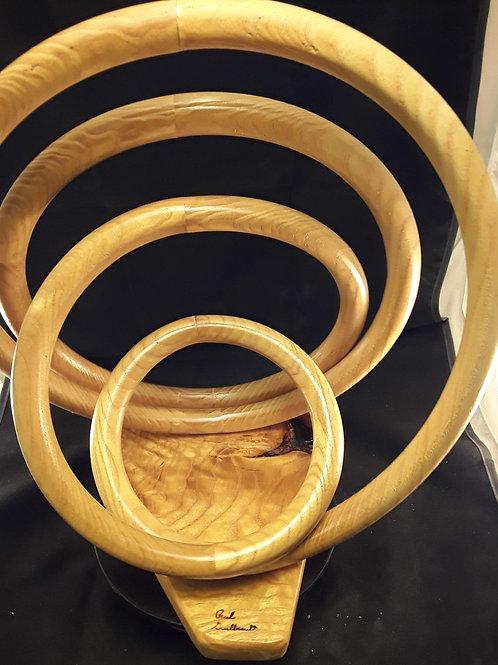 A 60 Osage Orange ring art