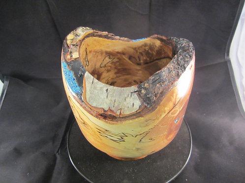 A 125 Natural edge Birch Vase