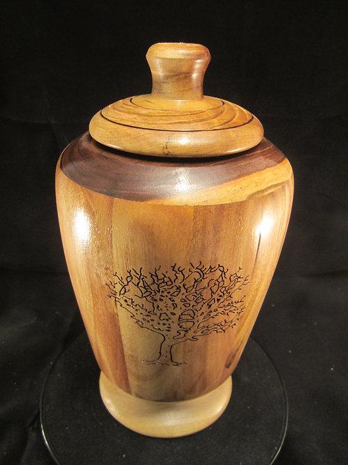 A111 Brazilian Walnut Urn