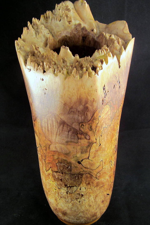 A 151 Maple Burl Vase