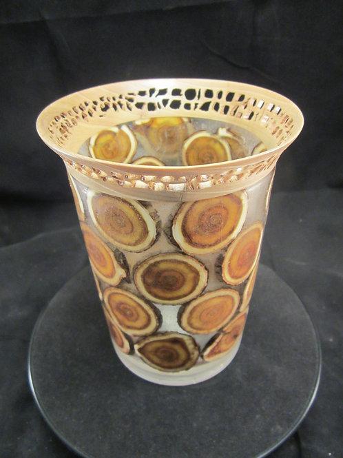 A 118 Smoke Branch vase