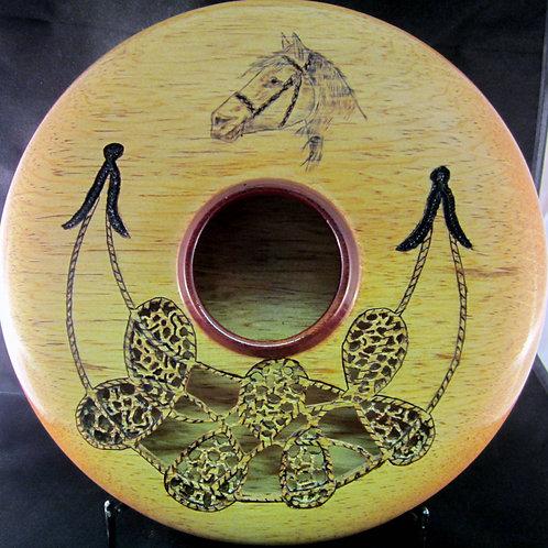 A 149 Carved Pine Vase