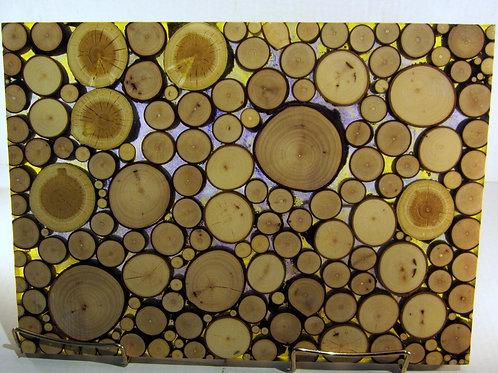 A 138 rainbow resin branch wall unit