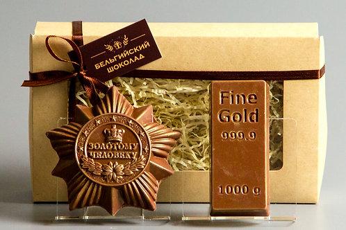 Золотому человеку + Слиток золота