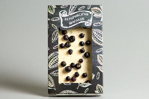 Белый бельгийский шоколад со смородиной