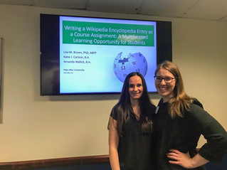 Lab Members Katie J. Carlson and Amanda Wallick Host Workshop at the Evidence Based Teaching Confere