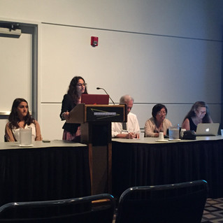 Students Attend and Present at APA 2016 Convention