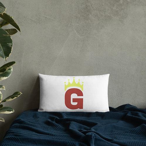 G Logo - Premium Pillow