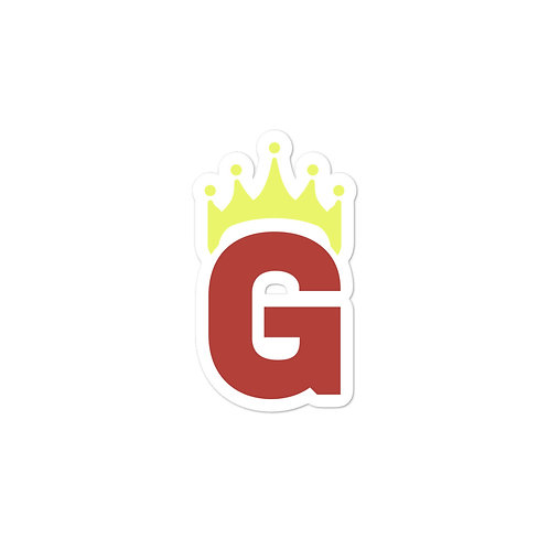 G Logo - Bubble-free stickers