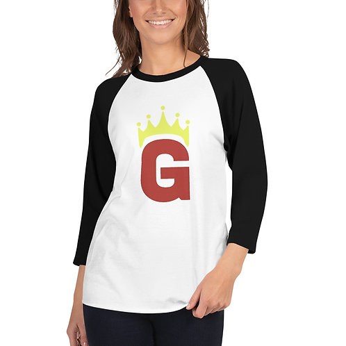 G Logo - 3/4 sleeve raglan shirt