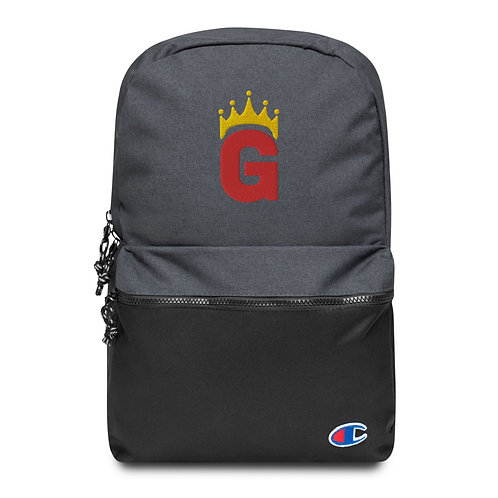 G Logo - Embroidered Champion Backpack