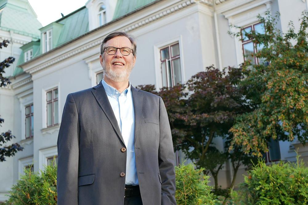 Bibellärare och författare Lars Enarson