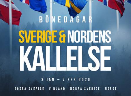 Bönedagar Sveriges & Nordens kallelse * 3 jan-7 feb