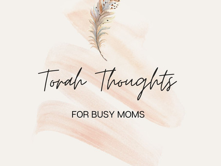 Torah Thoughts for Busy Moms
