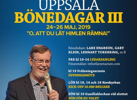 Uppsala Bönedagar III 24–26 maj