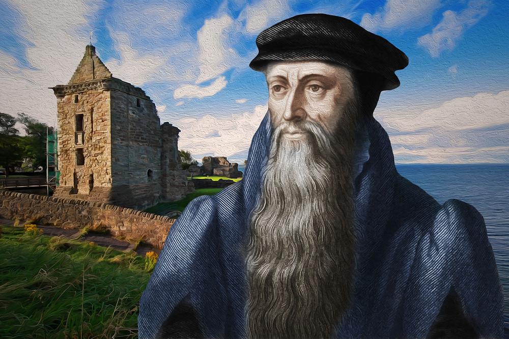 John Knox och St Andrews Slott