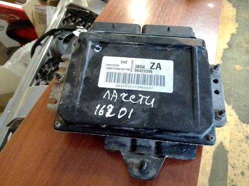 Блок управления двигателем, эбу Шевроле Лачетти 96422396