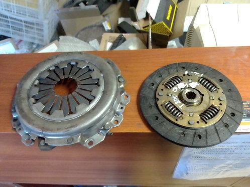 Сцепление, корзина диск Шевроле Авео Т200, Т250   96343030, 96343031