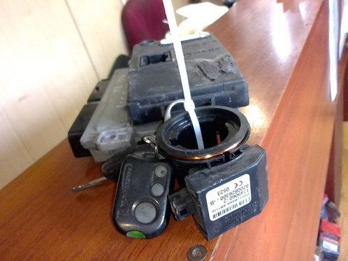 Эбу, комплект ключ, иммобилайзер Рено логан 1  8200661124, 8200598393, S11014002