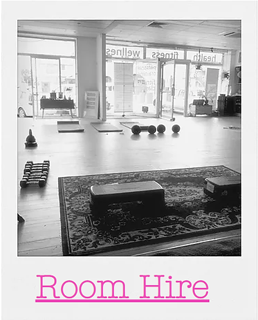 positive body fitness studio room hire