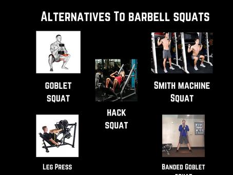 Navigating a Busy Gym- Barbell Squat & Laying Leg Curls