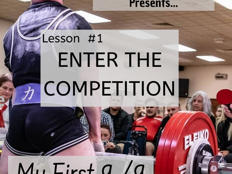 31 Lessons For The Perfect Lifting Competition