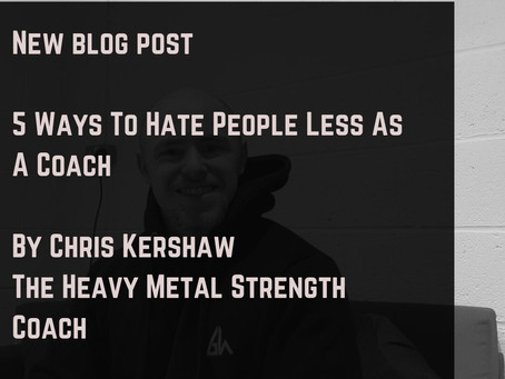 5 Ways To Hate People Less As A Coach