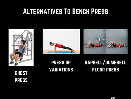 Navigating A Busy Gym- Alternatives For Bench, Deadlift, Lat Pulldown & Face Pulls