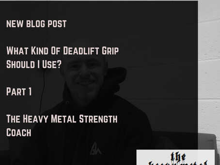 What Kind Of Deadlift Grip Should I Use?  Part 1
