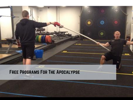Free Programs For The Apocalypse!