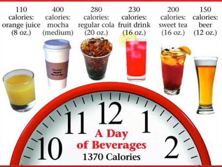 Stop wasting your calories on drinks!