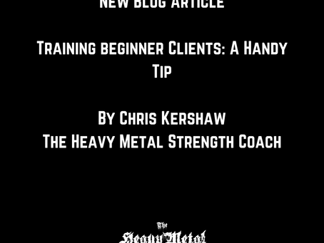 How To Train Beginners: A Handy Tip
