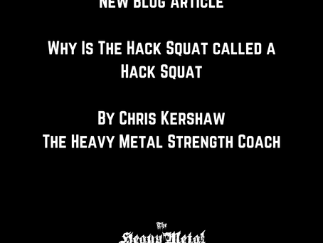 Why Is A Hack Squat Called A Hack Squat?