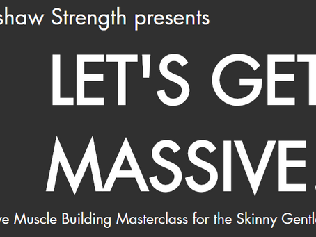 Avoid These 3 Mistakes To Help You Get Massive!