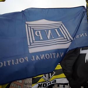 Институт (INP) на митинге оппозиции в поддержку политзаключенных